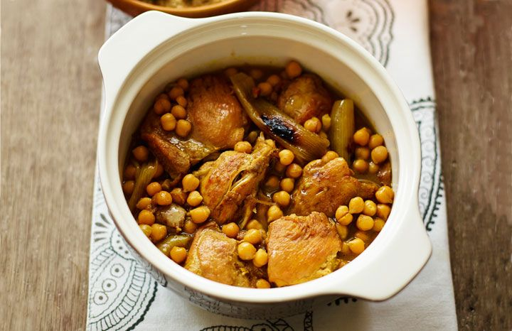 Chicken and apricot tagine| Recipes | Yours