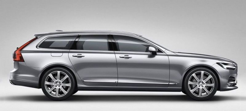 The 2017 Volvo V90 Wagon Is Here But Don T Tell Us You Re Surprised This Best Looking Modern Yet Maybe So