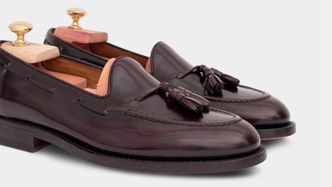 Classic Rivet Slip On Men Genuine Leather Loafers Summer