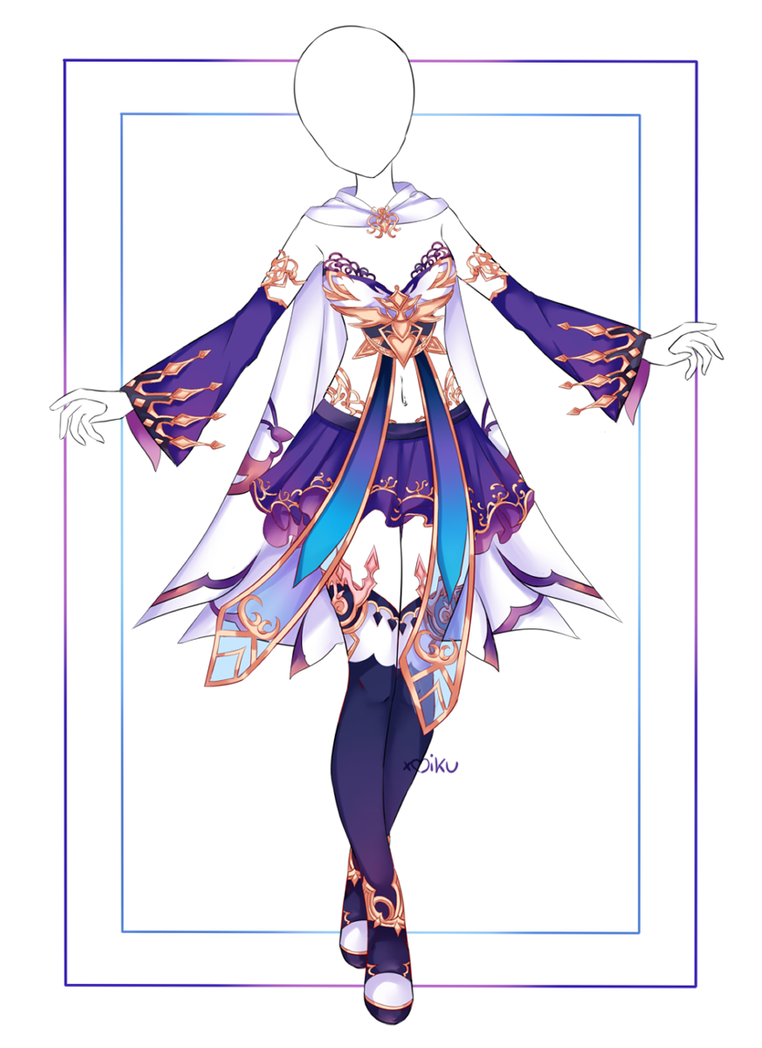Photo of {Closed} Auction Outfit 420 + base by xMikuChuu on DeviantArt