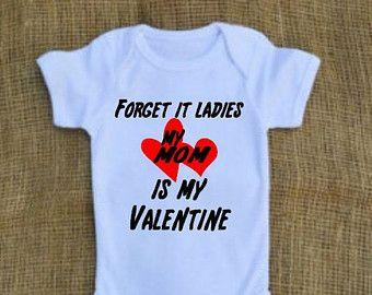 sorry ladies my mom is my valentine valentines day onesie or t shirt - Valentines Day Shirts Ladies