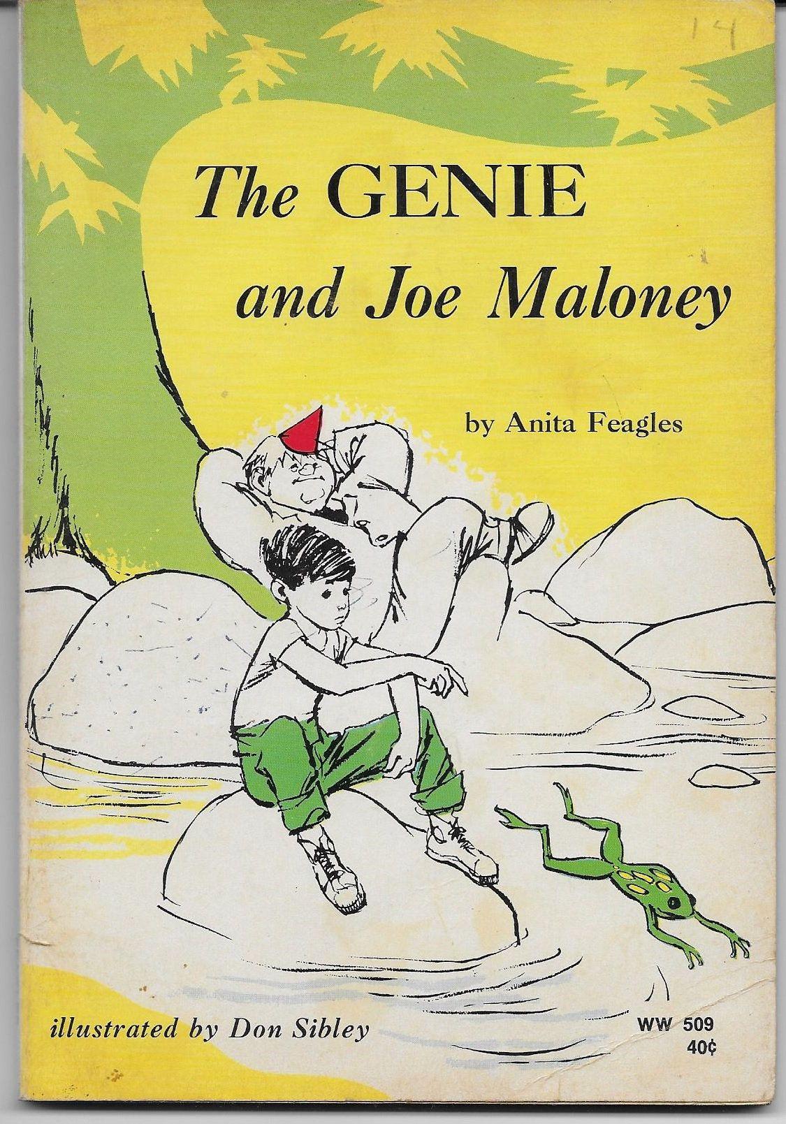 The Genie And Joe Maloney Anita Feagles 1962 Reading Gift Etsy In 2020 Reading Gift Basket Reading Gifts Vintage Book