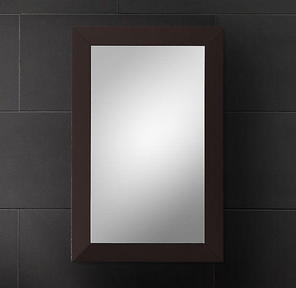 Wonderful Hutton Medicine Cabinet Dark Espresso Small Inset Downstairs Bathroom