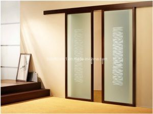 Invisiable Opaque Glass Top Rollers Hanging Interior Sliding Door - China Sliding  Door, Interior Sliding