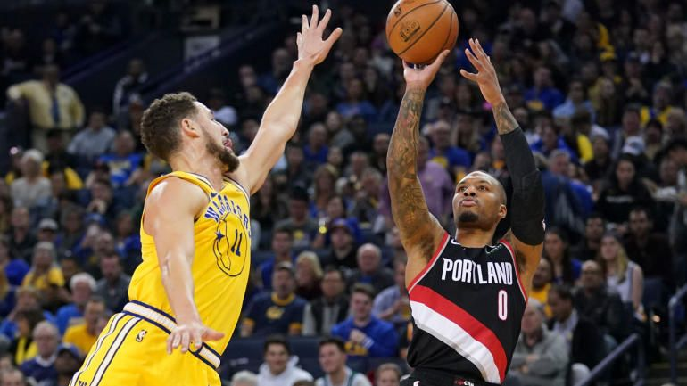 NBA scores highlights: Damian Lillard beats Warriors in OT