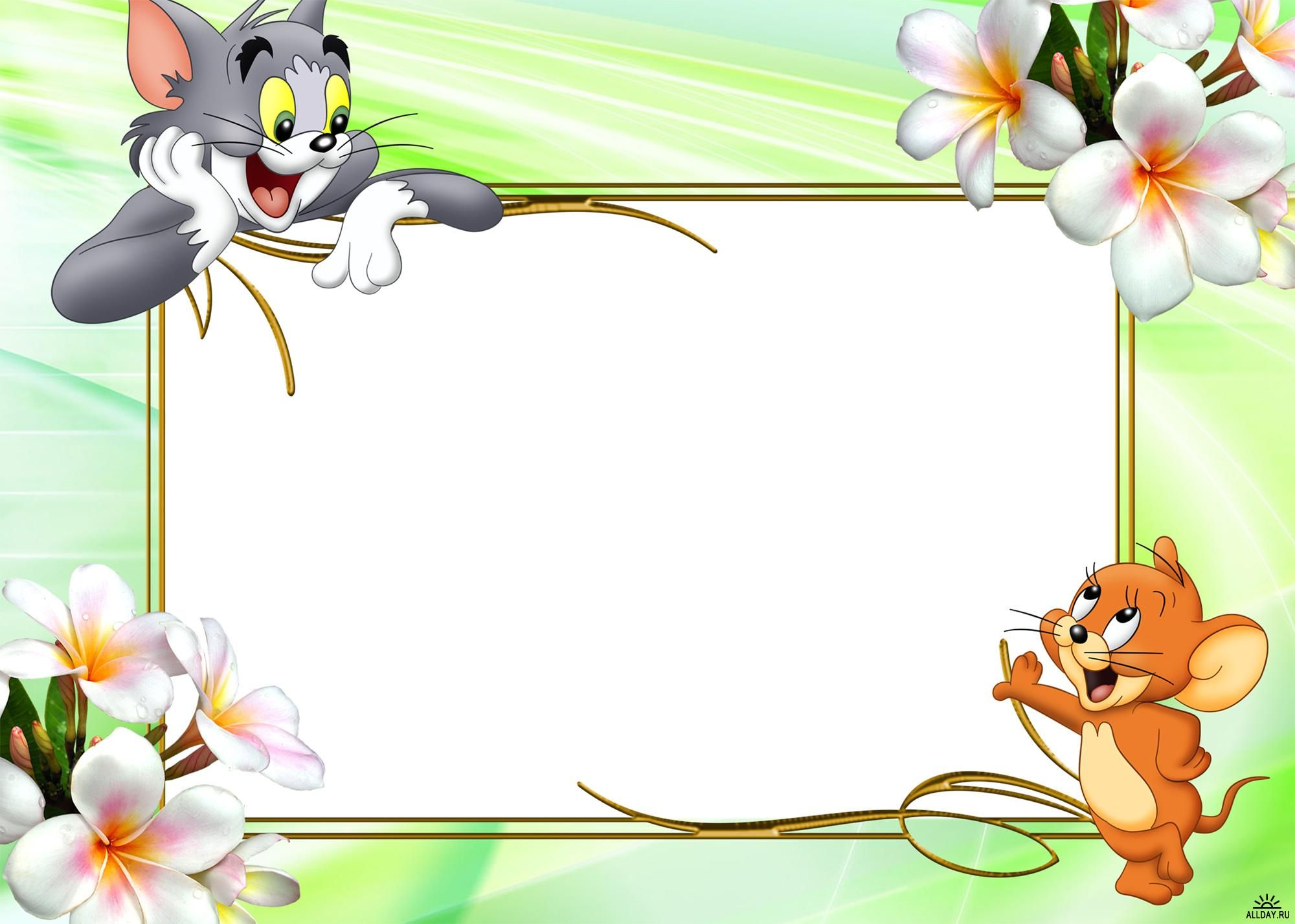 Picture Frames For Photoshop Download Kids Frames Tom And Jerry Cartoon Boarders And Frames