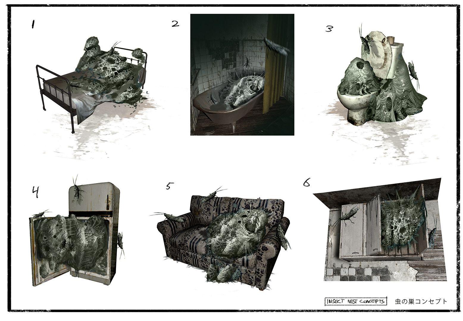 Artes conceituais de Resident Evil 7 mostram detalhes da casa dos Baker   REVIL  