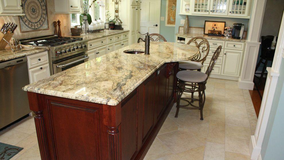 River Yellow Popular Chinese Granite Countertop Granite