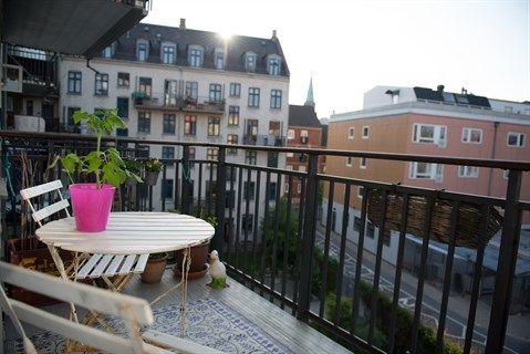 lejlighed med stor altan københavn