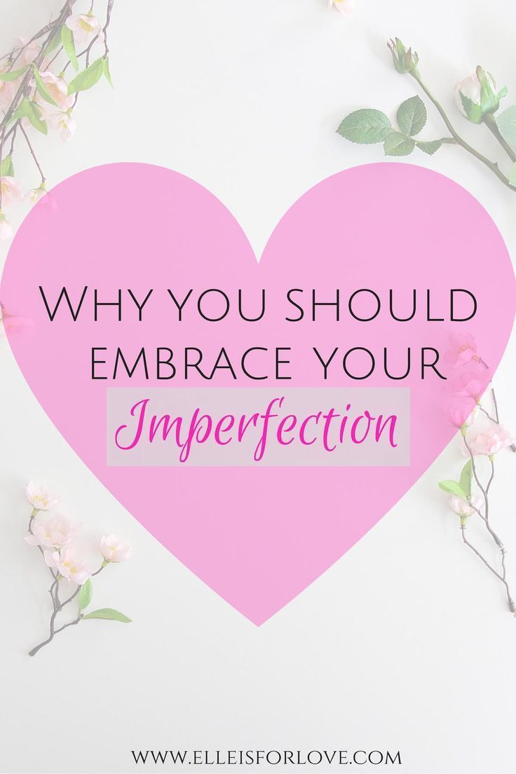 Strive for growth and improvement, not perfection. There is beauty in your 'flaws' and imperfections - learn how to embrace them so that you can love and appreciate yourself more every day.