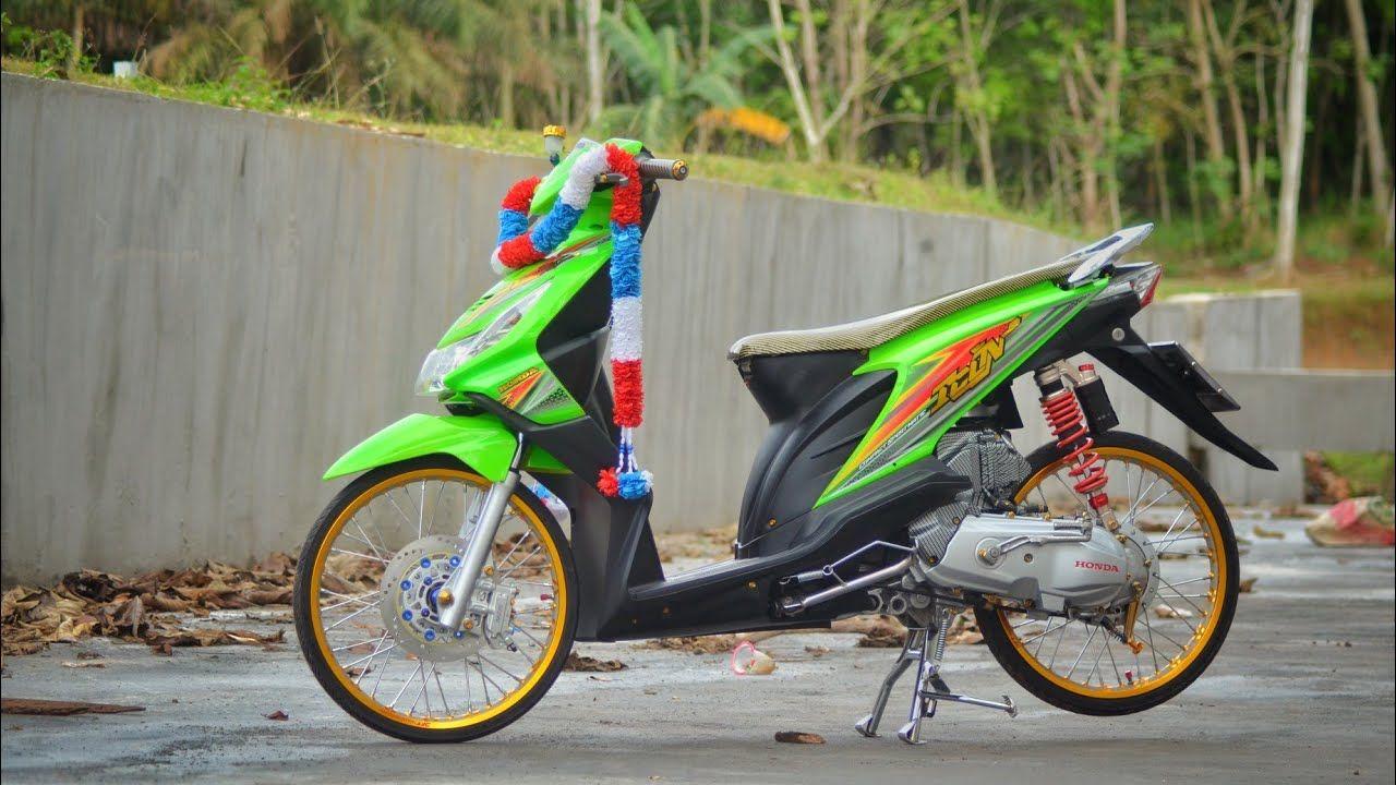 Modifikasi Motor Beat Karbu Thailook Kendaraan Motor Motor Modifikasi