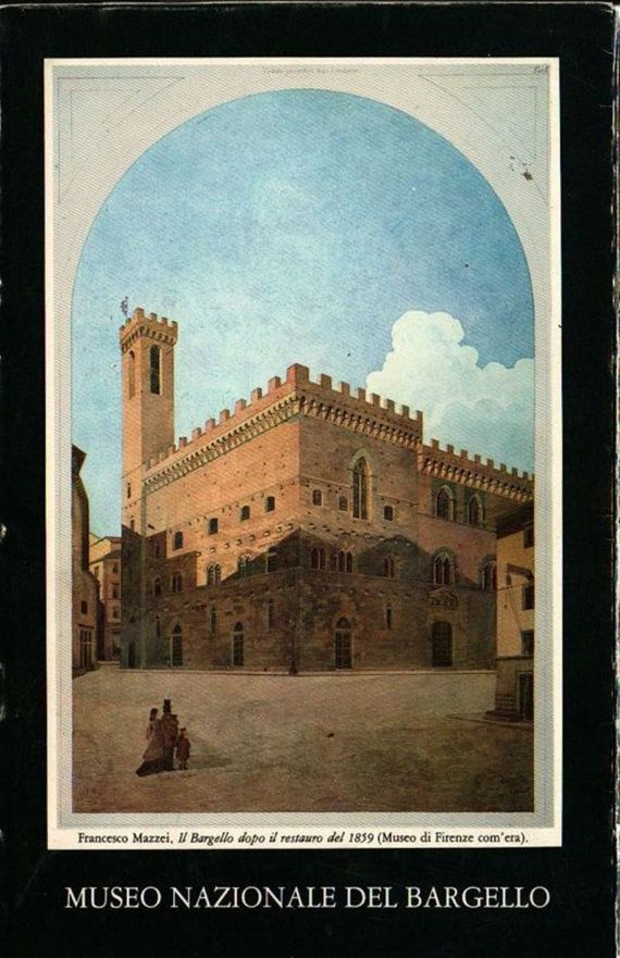 Museo Nazionale Del Bargello Itinerary and Guide - P. Barocchi and G. Gaeta Bertela - 1985 - Vintage Book
