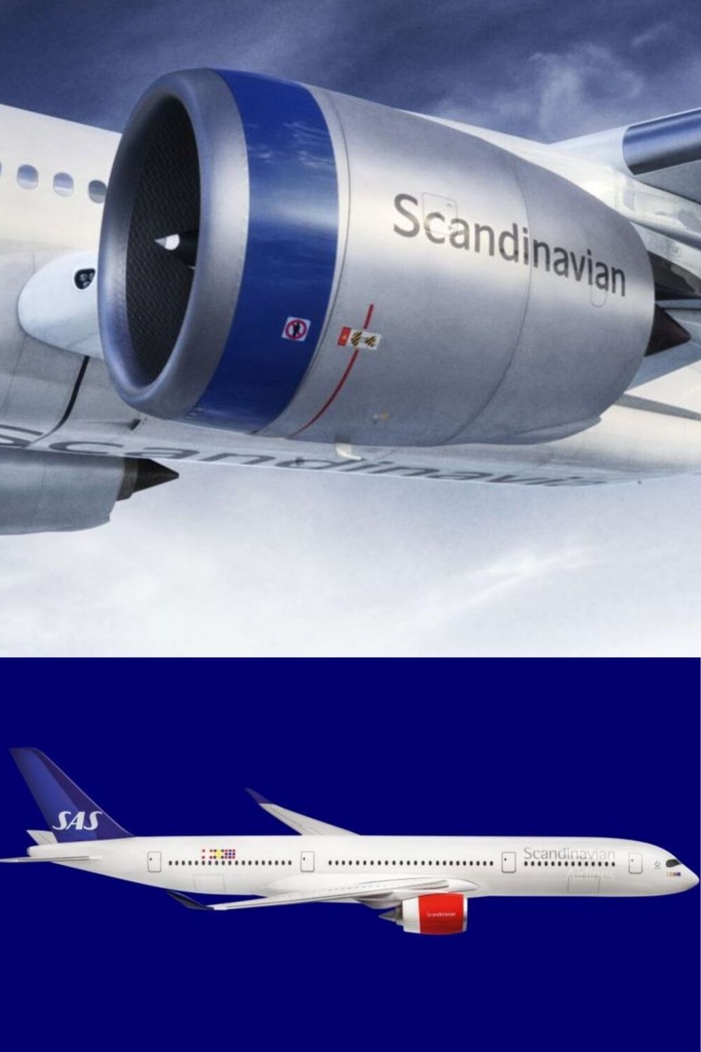 Sas Scandinavian Airlines Livery History Since 1946 Captainjetson Scandinavian Sas Airlines