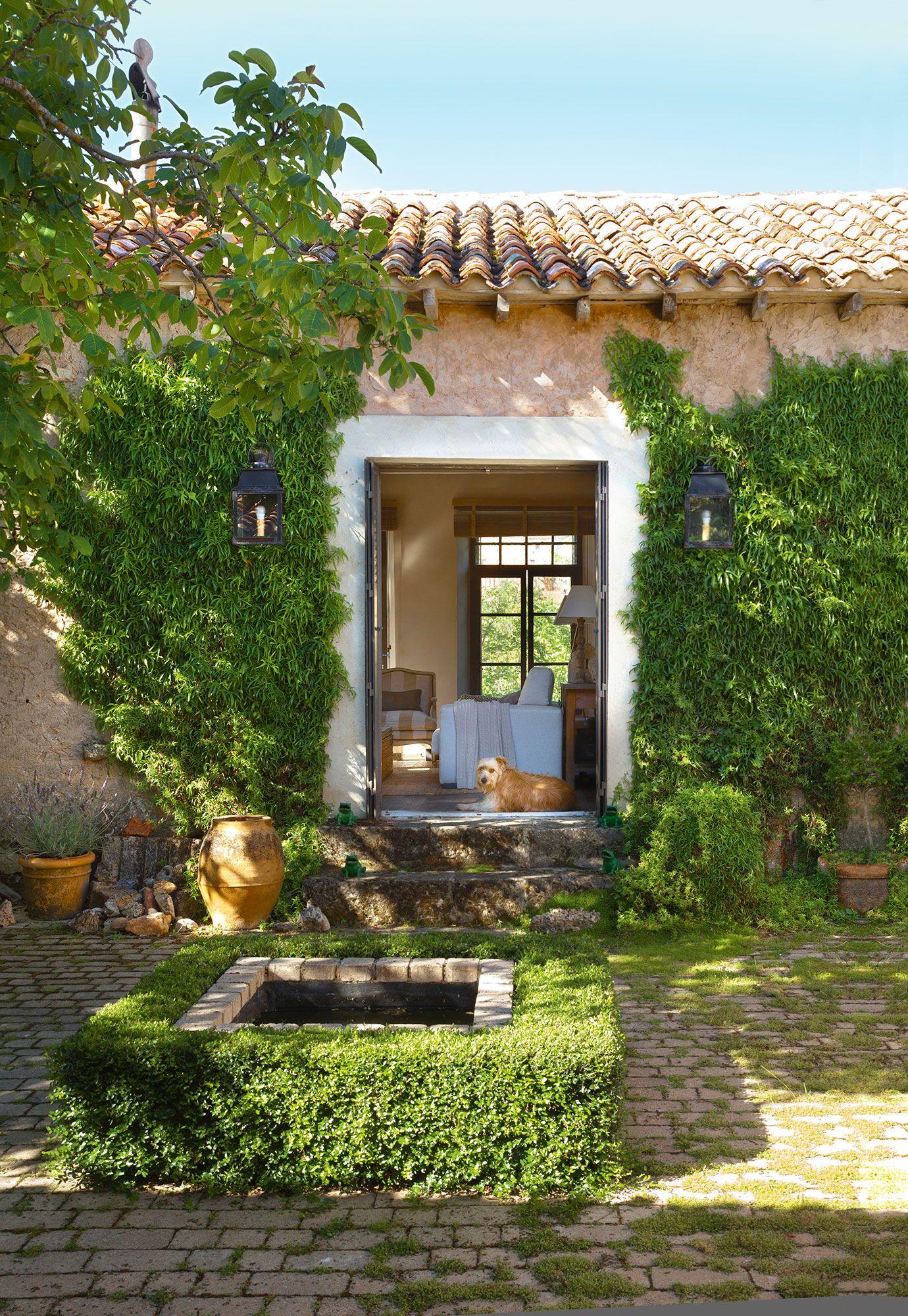 Tradicional jardines casas casas rurales y casas r sticas for Decoracion de casas brasilenas