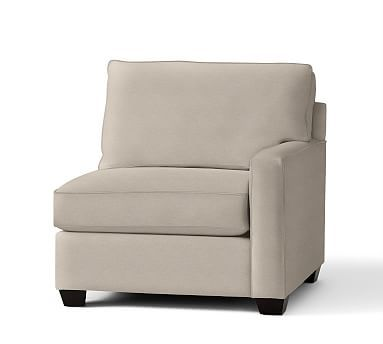 Buchanan Square Arm Upholstered Right Arm Chair Polyester