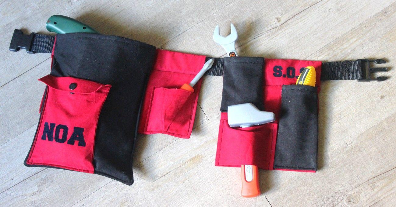 Ceinture à outils enfant, jouet d'imitation, bricolage