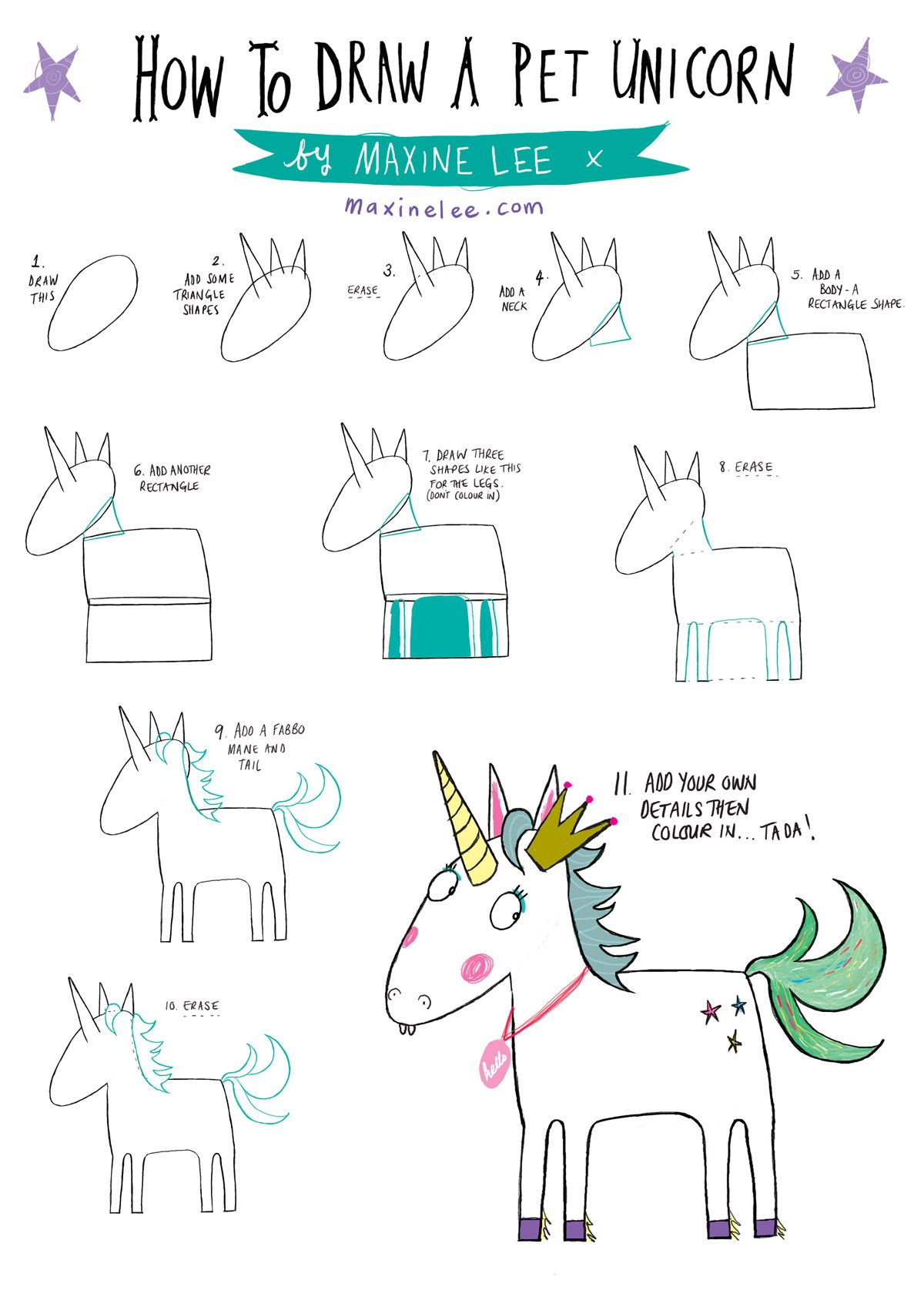 how to draw a pet unicorn been asked for this quite a. Black Bedroom Furniture Sets. Home Design Ideas