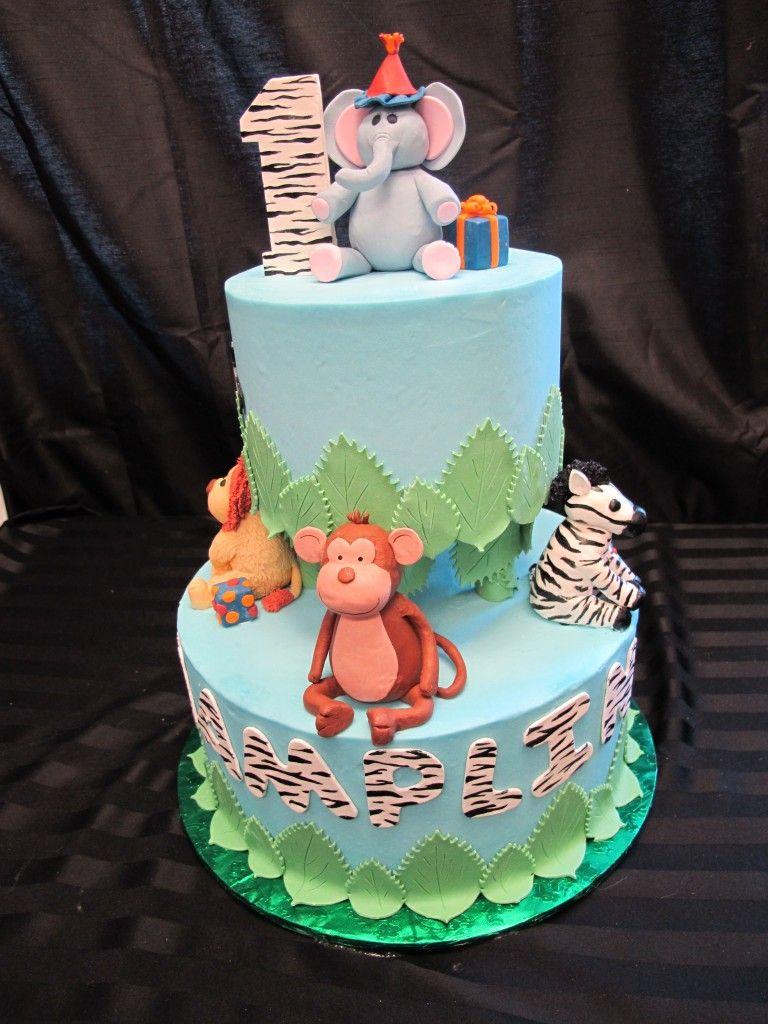 coolest animal print cake design 58 party ideas pinterest on jungle birthday cake design