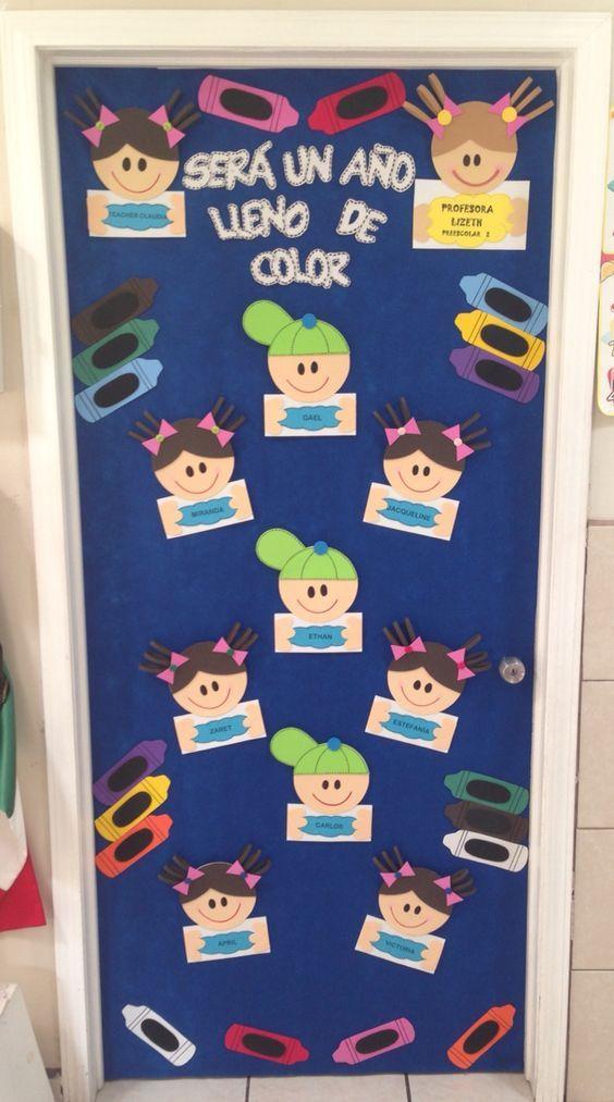 Decoracion de puerta para salon de clases classroom for Decoracion de puertas de salones