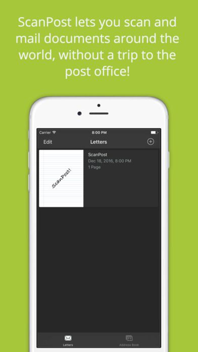 Check out our App Review of ScanPost for iPhone/iPad (a
