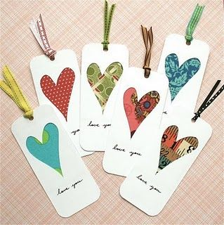 bookmarks - I've made these...fun, but a little bit of work with an exacto knife is needed. ;)