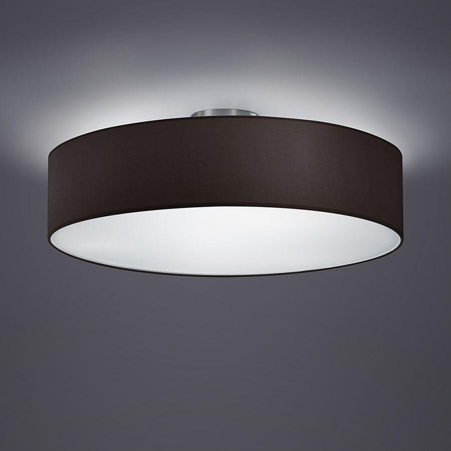 Schwarze Deckenleuchte Summa Mit Stoffschirm Von Loistaa Home24 Beleuchtung Decke Deckenleuchte Schlafzimmer Lampe