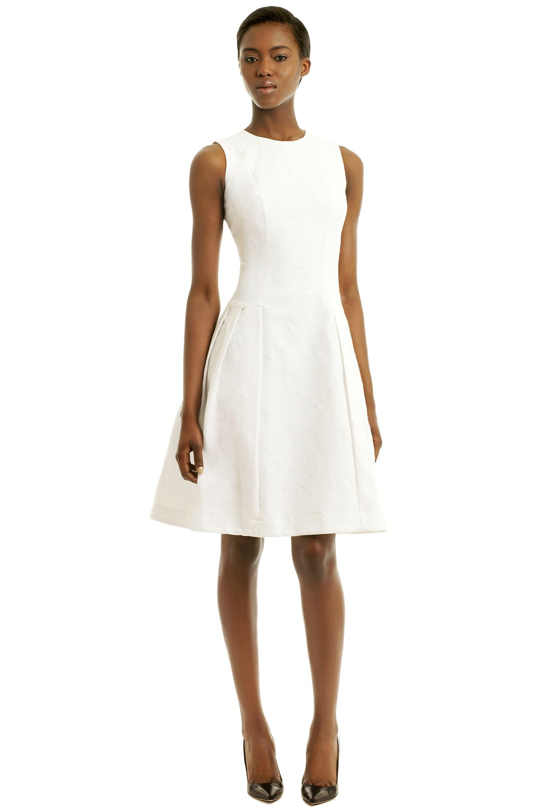 White Halo Dress By Carmen Marc Valvo For 85 Only At The Runway