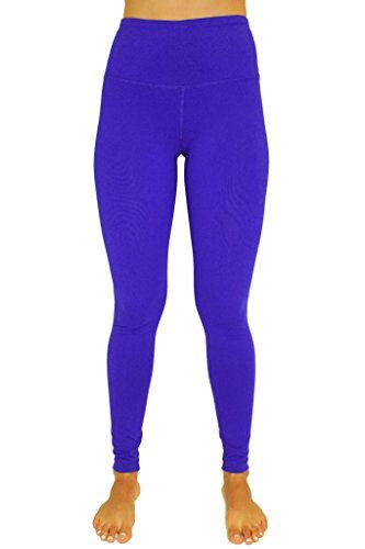 e735651620e410 90 Degree By Reflex High Waist Power Flex Legging Tummy Control Reflex Blue  XS -- Click image to review more details. (Note Amazon affiliate link)   ...