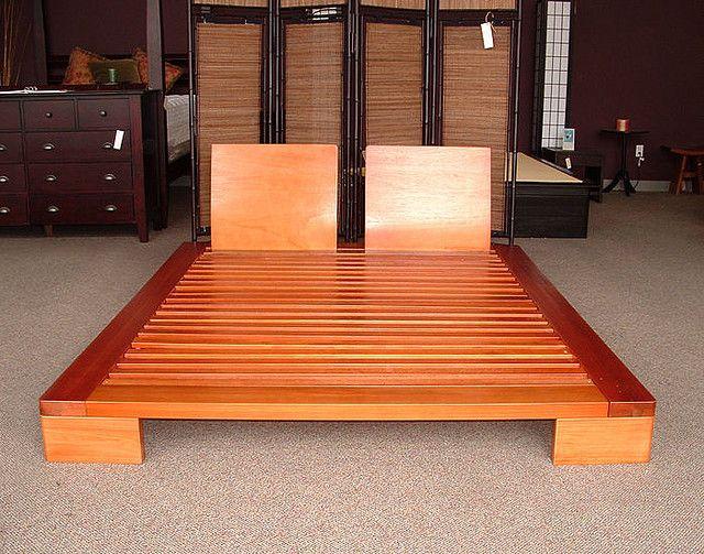 Japanese Domo Platform Bed Japanese Bed Frame Japanese Platform