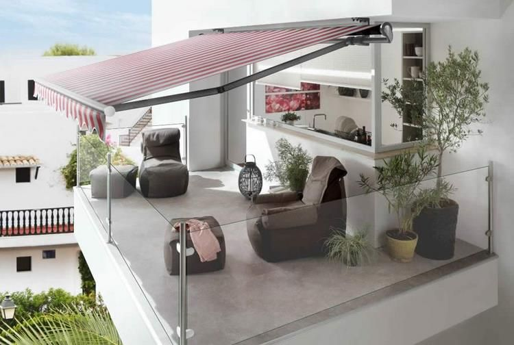 Retractable awnings balcony sun shade ideas #balcony #sun ...