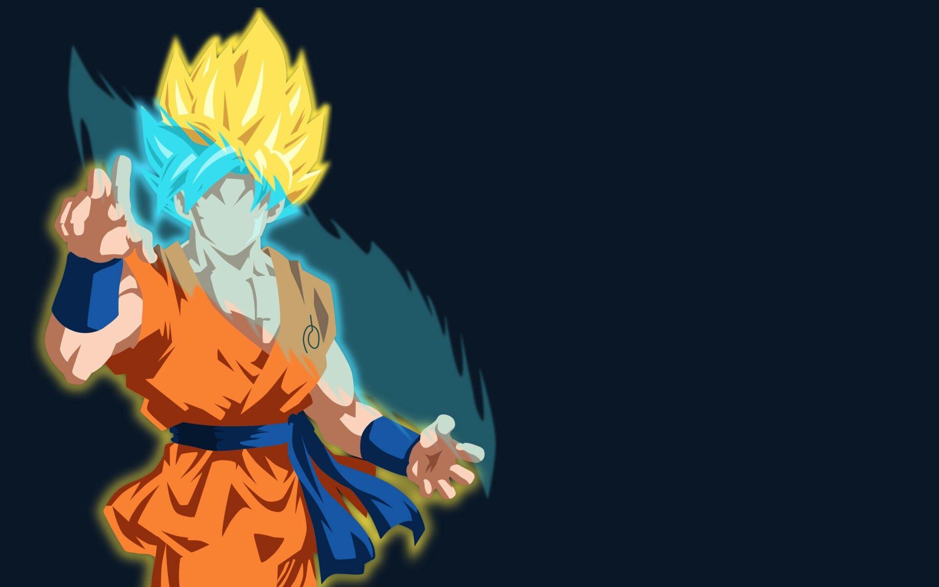 Goku Minimal Dragon Ball Super Wallpapers Goku Wallpaper Anime