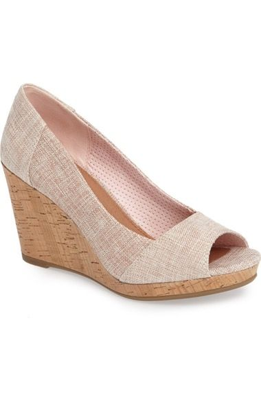 b5b471650a5 TOMS Stella Wedge Pump (Women) available at  Nordstrom