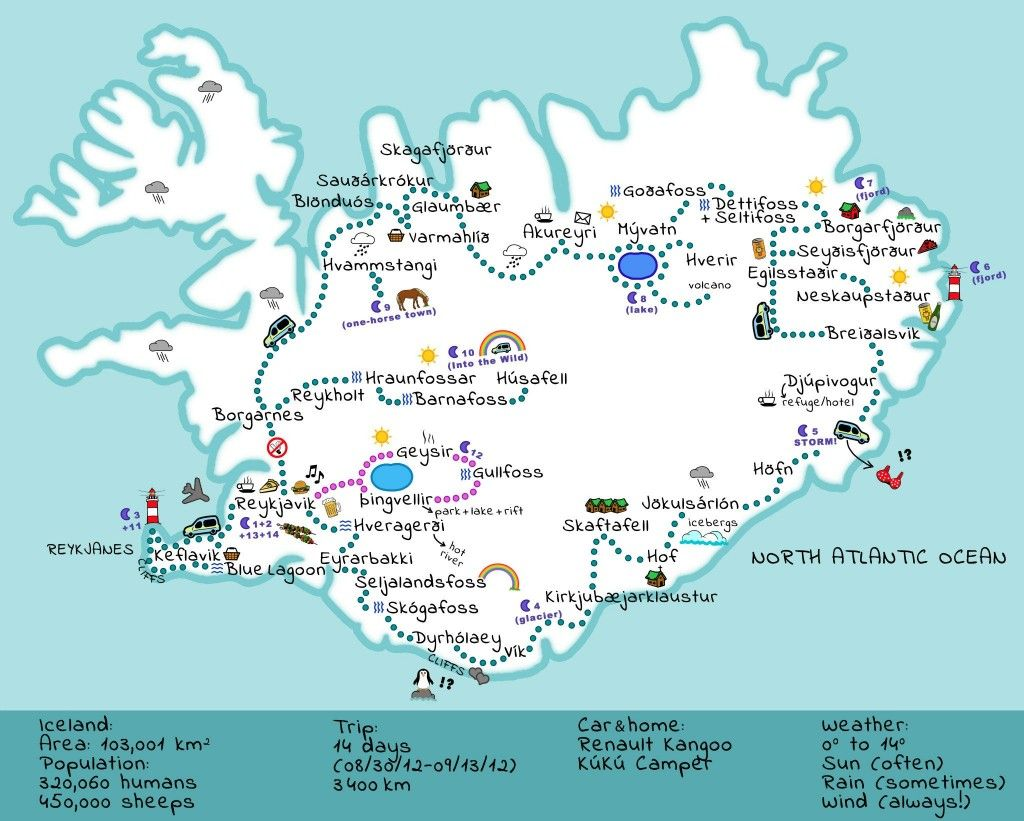 This is a graphic of Superb Printable Iceland Map