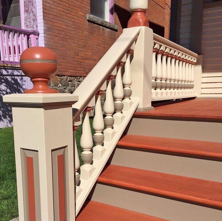 Best Raised Panel Newel Post Front Porch Decorating Newel Posts Traditional Porch 400 x 300