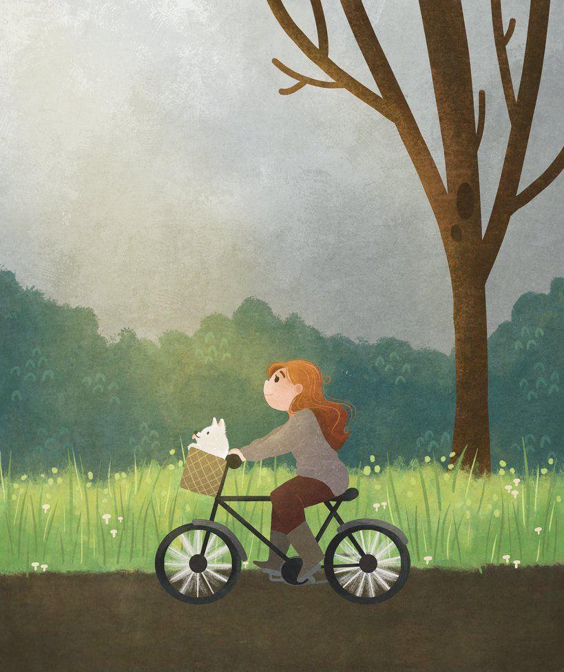 Bike Ride by morgansketch on DeviantArt