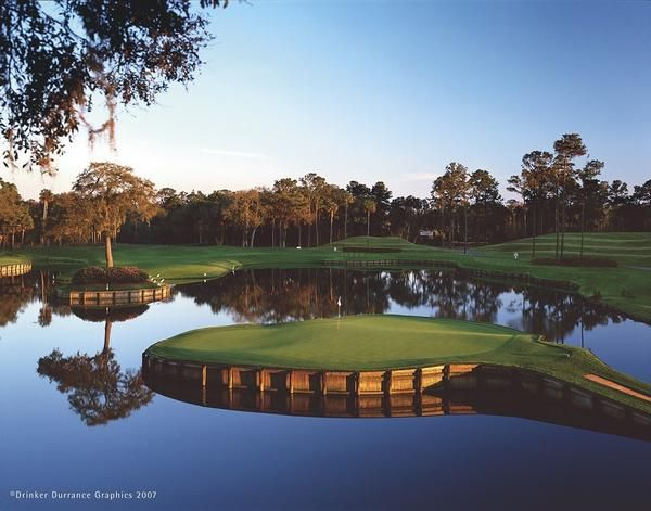 No 17 At Tpc Sawgrass Stadium Course Golf Courses Best Golf Courses Golf Trip