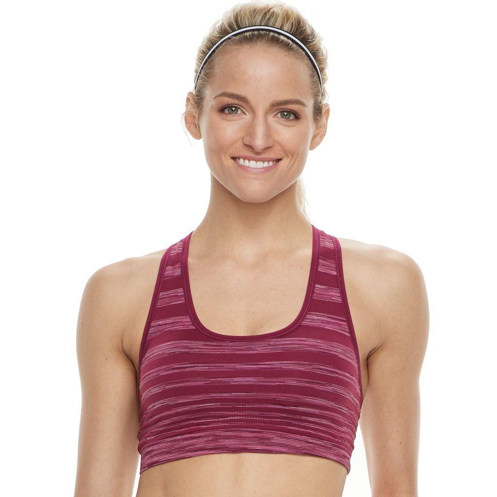 Women's Tek Gear® Seamless Sports Bra Bra, Women, Sports