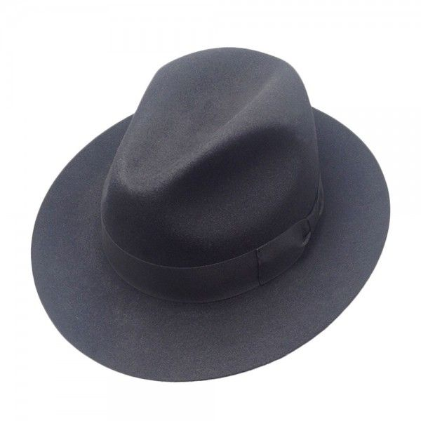 44f6c4c9e397a Harlem Sombrero Pelo Conejo Ala Ancha