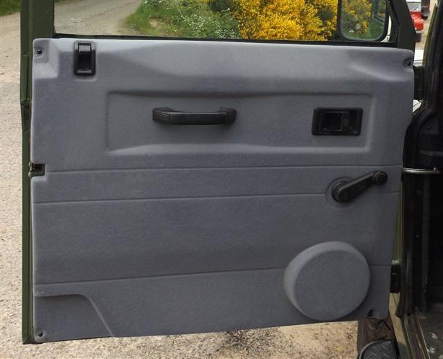 LaSalle Trim Defender 110 Front Door Trim - Grey Suede effect & LaSalle Trim Defender 110 Front Door Trim - Grey Suede effect ...