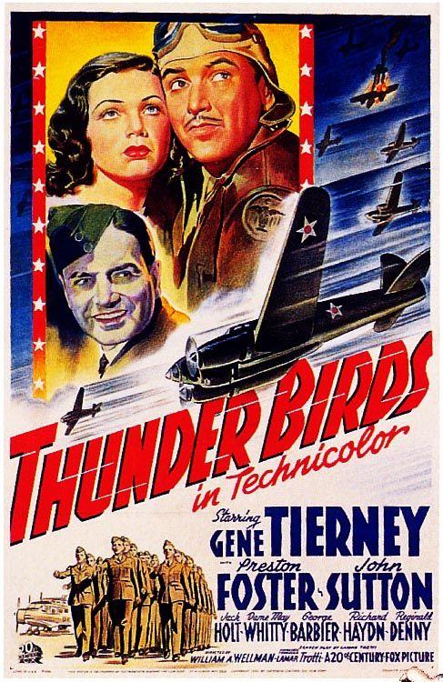 Thunder Birds 1942 Film Movie Cinema Posters Film Afisleri