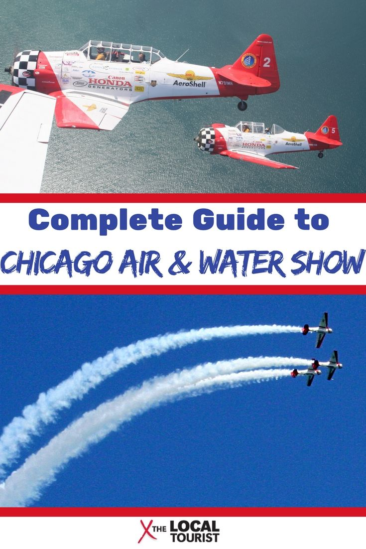 Guide to the Chicago Air & Water Show