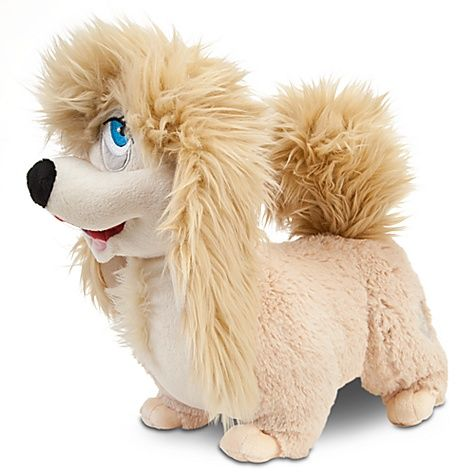 Disney Has Done It Again Lady And The Tramp Peg Plush What A Dog I Got Her After The Muppets Disney Stuffed Animals Cute Stuffed Animals Animal Pillows