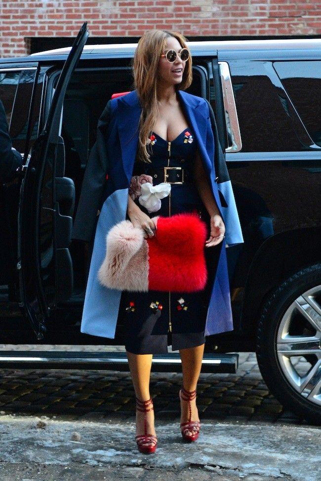 Beyoncé vive la Semana de la Moda de Nueva York #NYFW