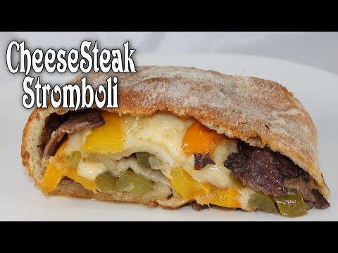 CheeseSteak Stromboli - YouTube