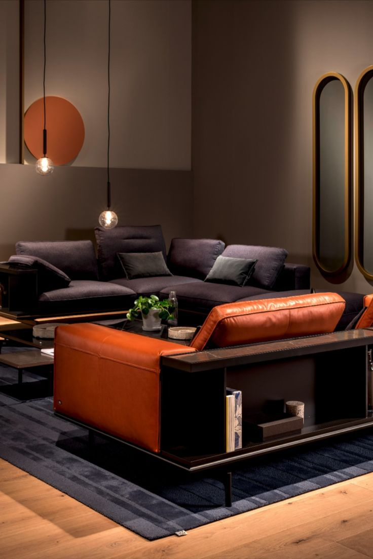 In contemporary living rooms, the sofa is the focal point ...