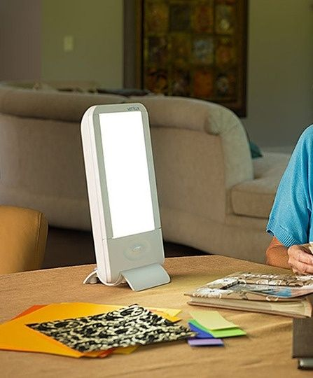 A Great Light Therapy Lamp To Help Beat The Short Days Light