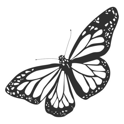 Monarch Butterfly Silhouette Ad Ad Sponsored Silhouette Butterfly Monarch Butterflies Vector Monarch Butterfly Butterfly Tattoo Stencil