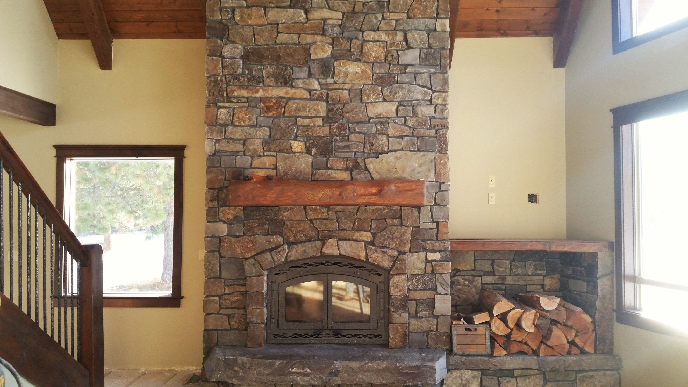 Moose Mountain Stone Fireplace  Google Search, This Will Be