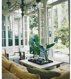 French Doors on Pinterest | Window, Doors and Sunrooms