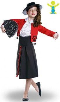 Disfraz de Cordobesa Manuela para niña  fc947769829
